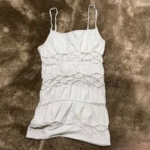 Charlotte Russe ivory tank top. Used